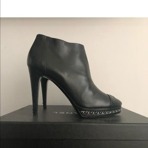 Chanel ankle bootie